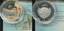 PALAU 2011 - 5 Dollars in Silber (25g), PP - Farbe - 7 World Wonders ALHAMBRA