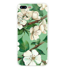 #Cell Vintage Flower Handpainted TPU Case Cover For iPhone 7 & 7 Plus & iPhone 6