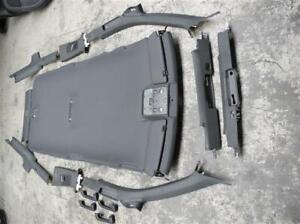 Audi A4 S4 8E B6 B7 Avant Set Verkleidung Leuchten Dachhimmel schwarz S-line RS4