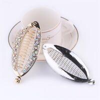 Hair Accessories Banana Clip Headwear Ponytail Hairpin Crystal Hair Clip
