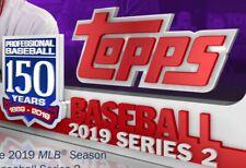 Toronto Blue Jays - 2019 TOPPS SERIES 2 COMPLETE TEAM SET