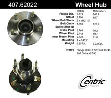 Wheel Bearing and Hub Assembly-C-TEK Hubs Front fits 1991 Chevrolet Corvette