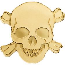 Golden Coin Gold 0,5g 9999 Pirate Skull. PALAU 2017