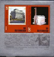 ÖSTERREICH 2009 MiNr Block 50 VERPACKUNGSKÜNSLER CHRISTO MNH ** (023)