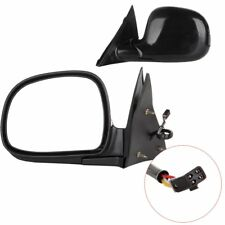 Pair Set Power Side View Mirrors For 94-97 Chevrolet S10 95-97 Blazer Truck SUV