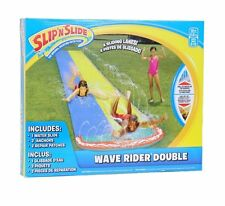 Wham-O Slip N Slide Double Wave Rider Splash Water Lawn Game Kids Yard Summer