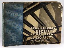 Mid Century Modern Brazil Architecture 1952 Arquitetura na Bienal de Sao Paulo