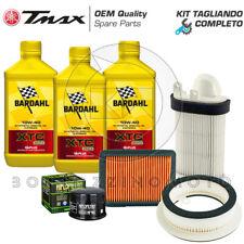 KIT TAGLIANDO YAMAHA T-MAX 500 2008-2011 FILTRI ARIA/OLIO BARDAHL XTC C60 10W40