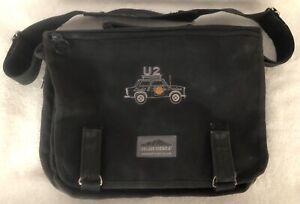"U2 1992 ZooTV Tour ""Light & Sedan Design"" Canvas Briefcase Messenger Bag"