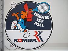 Aufkleber Sticker Romika - Tennis - Sport  - Schuhe - (2807)