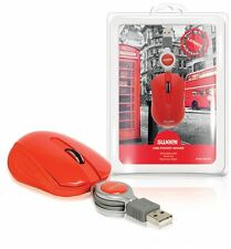 Sweex Pocket mouse USB London Edition for Netbook/Notebook/Laptop