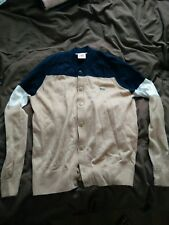men's lacoste cardigan size small (3)