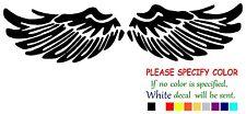 """Angel Wings Funny JDM Vinyl Decal Sticker Car Window laptop tablet bumper 8"""""""