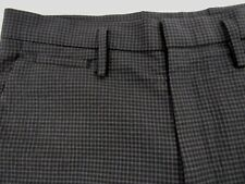 Marc by Marc Jacobs Men's Gray Plaid Wool Blend Shorts Size 28