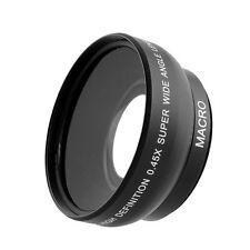 52mm Fisheye 0.45x Super Wide Angle Lens MACRO For Nikon D3200 D5200 D5100