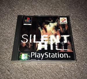 Silent Hill - Sony PlayStation 1 - PS1 - Black Label - Manual - VGC - UK Seller