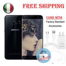 Nero Samsung Galaxy S7 Sm-g930a 32gb Sbloccato GSM 4g Smartphone