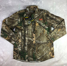 Under Armour Performance Realtree Camo Field Hunting Shirt Men's Sz L MSRP $80.