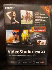 VideoStudio Pro X3 Video Studio Pro X3 Pc Brand New Sealed Box