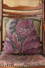 William Morris Acanthus Tapestry Cushion Cover Purple