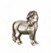 A.E. Williams Fine Brittish Pewter Lapel Hat Pin Shetland Pony  #35263