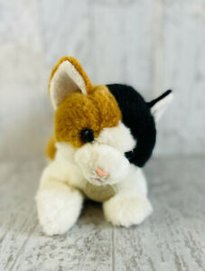 "Miyoni By Aurora Plush Calico Cat Kitten Stuffed Animal 12"""