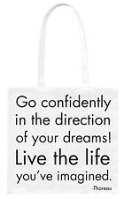 Quotable 'Go Confi' - Beautiful quotes - beautiful designs on Tote Bags & more!
