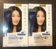 2 Boxes Clairol Permanent Root Touch Up #2 Matches Black Shades New in Box