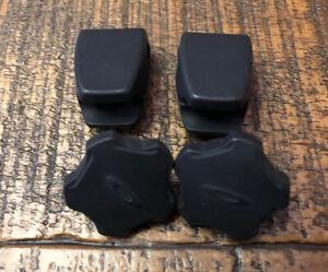 New! Oakley Full Size Football Helmet Facemask Visor Clips -Black