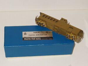 HOn3 PFM Pacific Fast Mail BRASS D&RGW Pagosa Jct Comb w/Cupola umptd never used