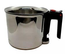 BEKA Cookware Bain Marie 1.5 Qt Pot Double Boiler Melting Simmer Pot Stainless