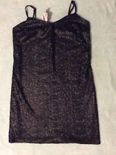BNWT Size 10 Black Fully Sequined Dress - Front & Back - Stunning
