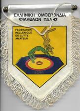 WRESTLING FEDERATION OF GREECE OFFICIAL SMALL PENNANT OLD