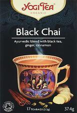 Yogi Tea Organic ARYUVEDIC Herbal Tea 17 Tea Bags 40 Flavours Pack of 6 Green Tea