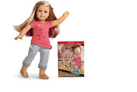 SALE!! American Girl Isabelle & book- With Hair Extension- NIB Girl of the Year
