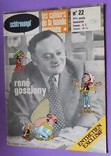 SCHTROUMPF les cahiers de la bd n°22. René Goscinny. 1973