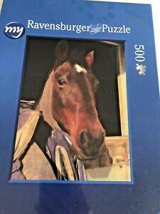 My Ravensburger 500pc Photobox Premium Jigsaw Puzzle Horse Face Factory Sealed