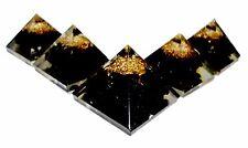 Black    Orgonite Pyramid Orgone Energy Multiplier Generator EMF Protector 25mm