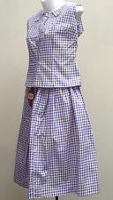 Vintage 1950s summer skirt & top CICELY OF LONDON Rockabilly UNUSED cotton 8 10