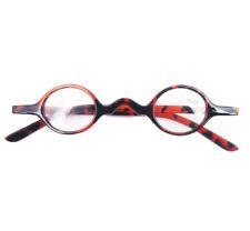 Small Round Oval Retro Vintage Eyeglasses Reading Glasses +100 Tortoise shell