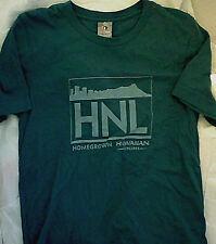 Homegrown Hawaiian Airlines HNL T-Shirt Blue S xs