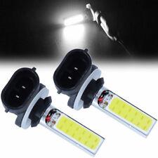 2x 881 H27W 20W 12V COB LED Fog Driving Light DRL Light Lamp Bulb White yu