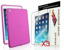 For Apple iPad Mini 1 2 3 Rubber Silicone Skin Gel Soft Case Cover Girls Pink
