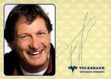 Franz Klammer Skialpin Autogrammkarte mit Unterschrift orig OU AK TOP NEU 187 UH
