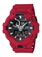Casio G-Shock Uhr GA-700-4AER Analog,Digital Rot