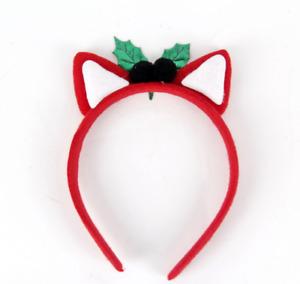 Christmas Headband Santa Xmas Party Decor Hair Band Clasp Head Hoop