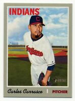 1970 Topps #136 CARLOS CARRASCO Cleveland Indians Baseball Card - 2019 Heritage