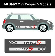 Brand New Custom All Models BMW Mini Cooper S Stickers Vinyl Decals Side Decals