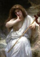 """high quality oil painting handpainted on canvas """"bacchante"""""""