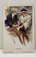 Harrison Fisher The Proposal Renthal Postcard B17